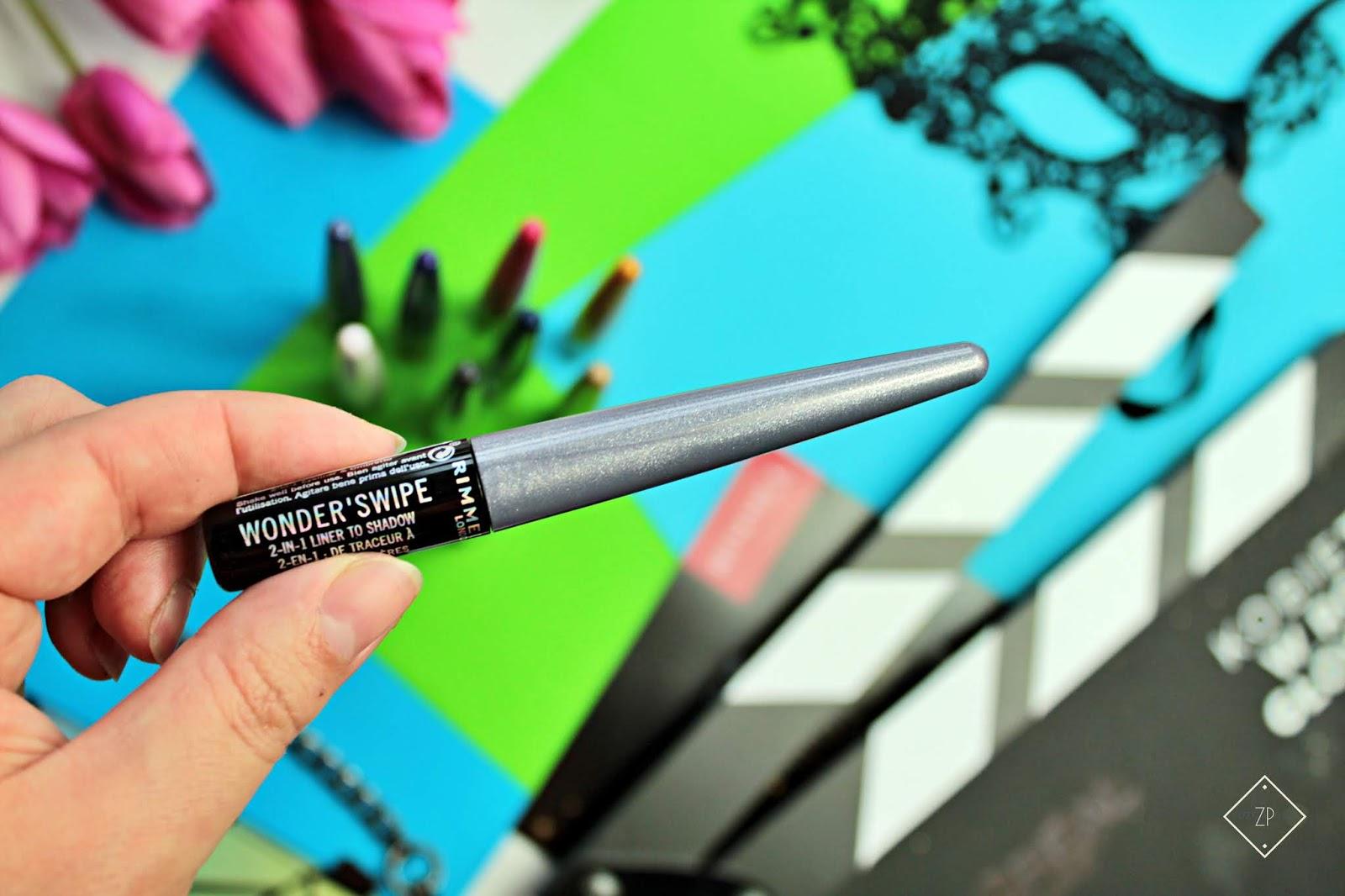 NOWOŚĆ! Rimmel metaliczny eyeliner i cień 2 w 1 Wonder'swipe