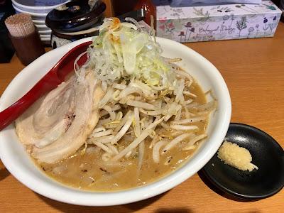 味噌ラーメン(野菜&にんにく増し)