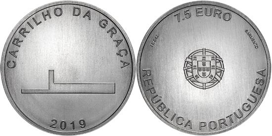 Portugal 7,5 euro 2019 - João Luís Carrilho da Graça