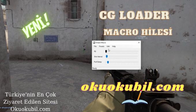 CG Loader 21.0 Geri Tepme Yok Macro Script Tüm Oyunlar İçin Aim, No Recoil 2021