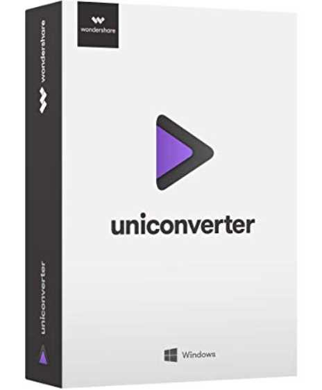 Wondershare UniConverter 11.7.6.1 poster box cover