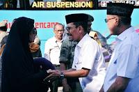 Walikota Doakan Seluruh Jemaah Haji Kobi Raih Predikat Haji Mabrur