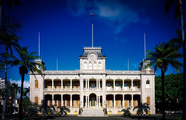 Iolani Palace, Beaches, Parks, Seashores, Hawaii, Honolulu, Tourist Attractions, Holiday Places, Best Tourist Attraction, Tourism, Travel,