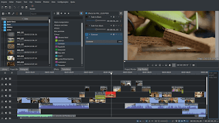 Daftar Video Editor Alternatif Di GNU/Linux Ubuntu & Turunannya