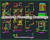 AutoCAD Plumbing Drawings dwg - Layout Plans