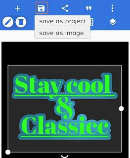 cara membuat typography keren di pixellab android
