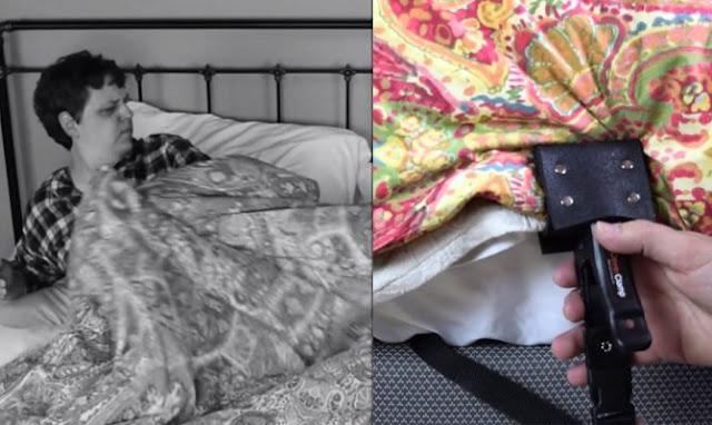 Ειδική συσκευή εμποδίζει τον σύντροφό σας να σας «κλέβει» το πάπλωμα την νύχτα