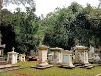 Kompleks Makam Belanda di Kebun Raya Bogor
