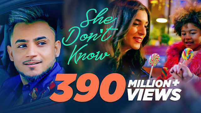Millind Gaba - She Don't Know Lyrics in hindi and english