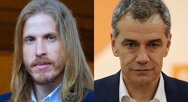 Pablo Fernández y Toni Cantó