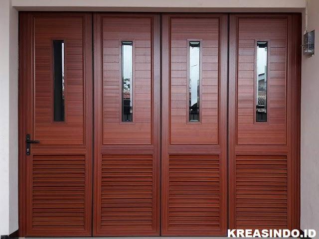 Jasa Pintu Garasi Aluminium Harga Per Daun Murah dan Model Modern
