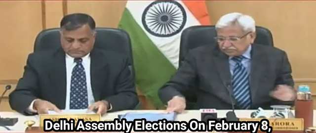 Delhi Assembly Elections On February 8,