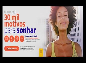 Promoção Trinta Mil Motivos Para Sonhar Itaú Mastercard