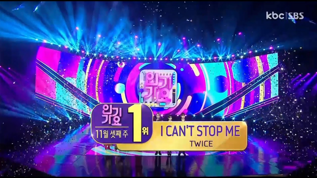 TWICE Wins The 6th Trophy for 'I CAN'T STOP ME' on 'Inkigayo', Congratulations!