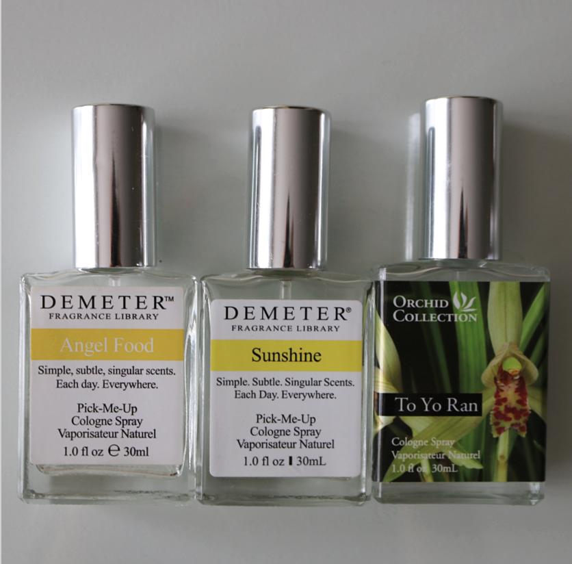 Fragrance Empties