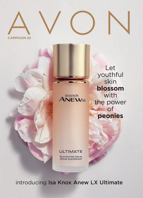 AVON Campaign 20 2020 Brochure Online - Intro Isa Knox Anew Lx Ultimate!