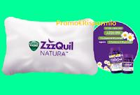 Logo ZzzQuil ''Ho solo dormito meglio'' : come ricevere kit Federe in omaggio (premio certo)