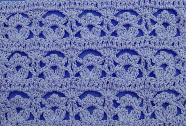 3-Crochet Imagen Puntada de flores a crochet y ganchillo por Majovel Crochet