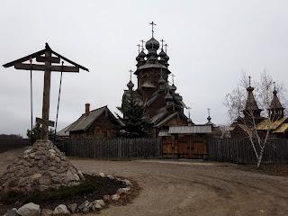 Святогорск. Историко-архитектурный заповедник «Святые горы». Всехсвятский скит
