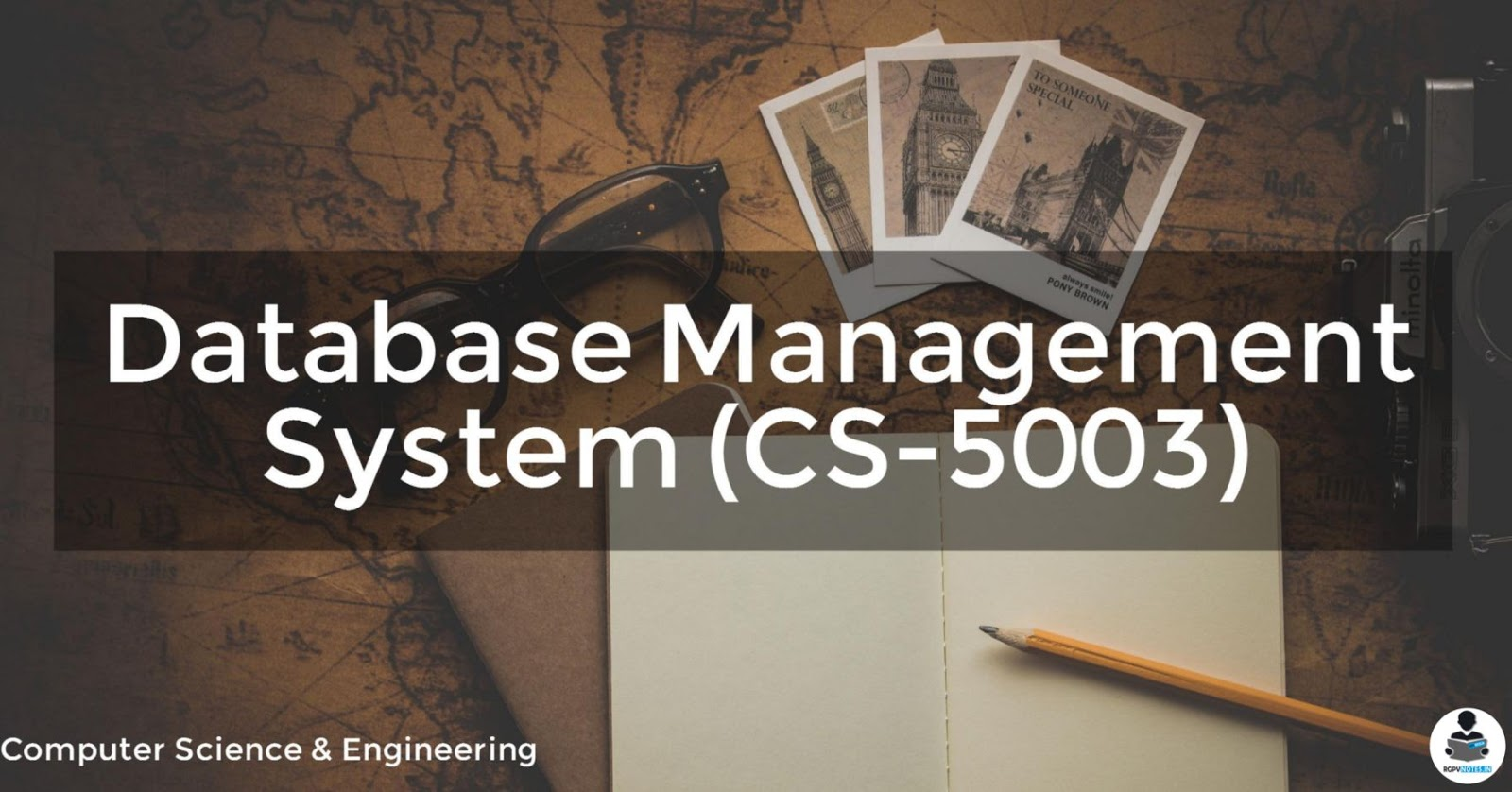 CS-5003 - Database Management System RGPV notes CBGS