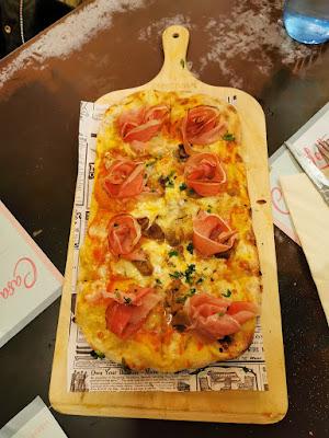 Pinsa Piccolina del Restaurante Casa Leotta