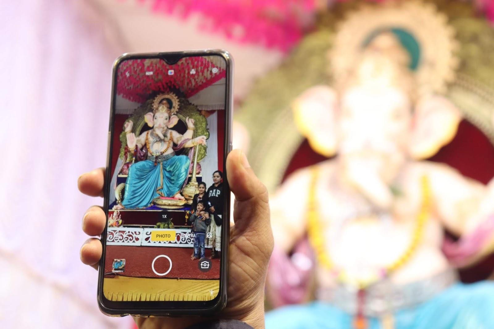 ganesha mobile photo