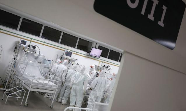 Covid-19: Ministério da Saúde autoriza mais 2,4 mil leitos de UTI