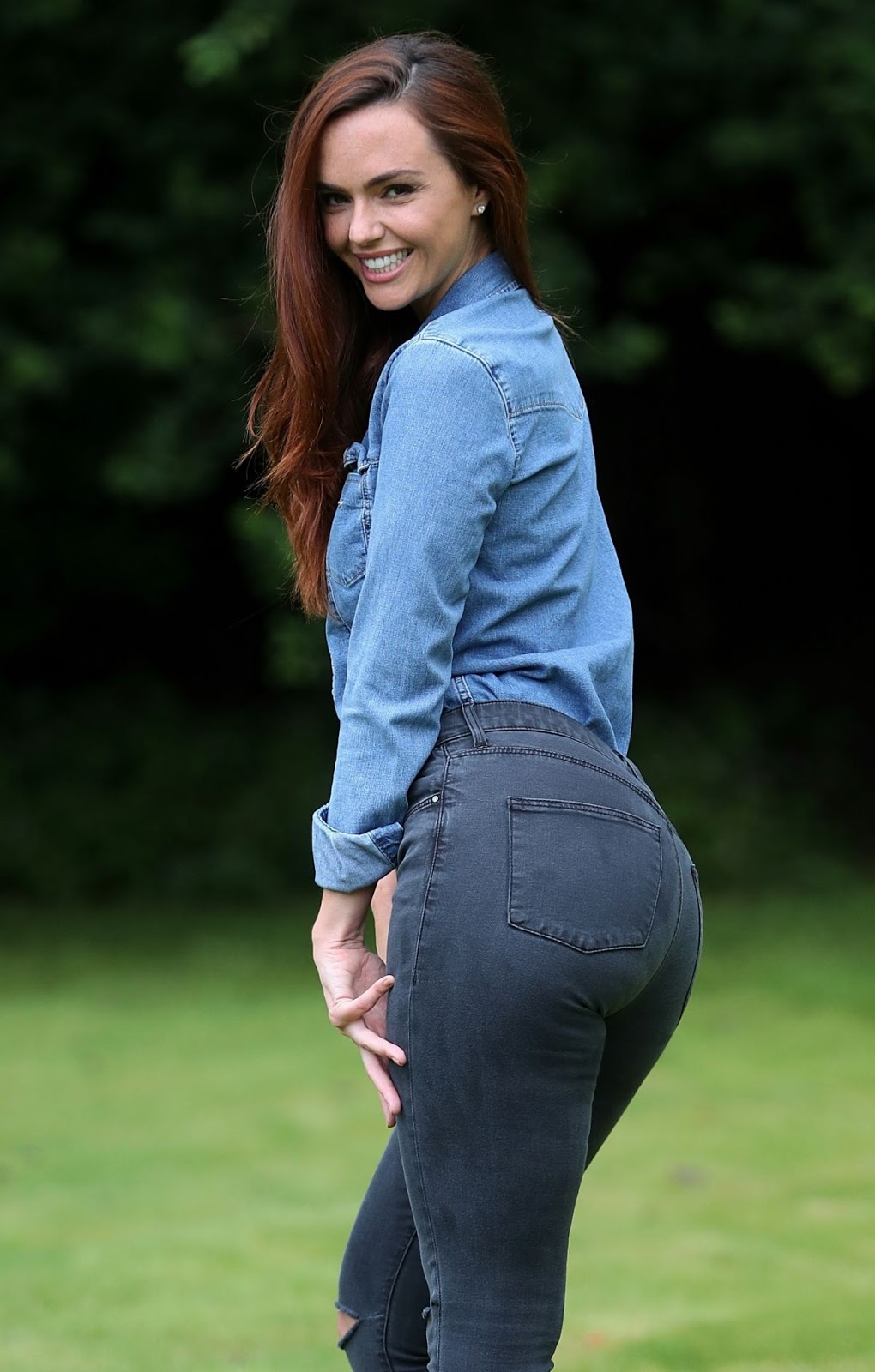 Jennifer Metcalfe Rear Of The Year 2016