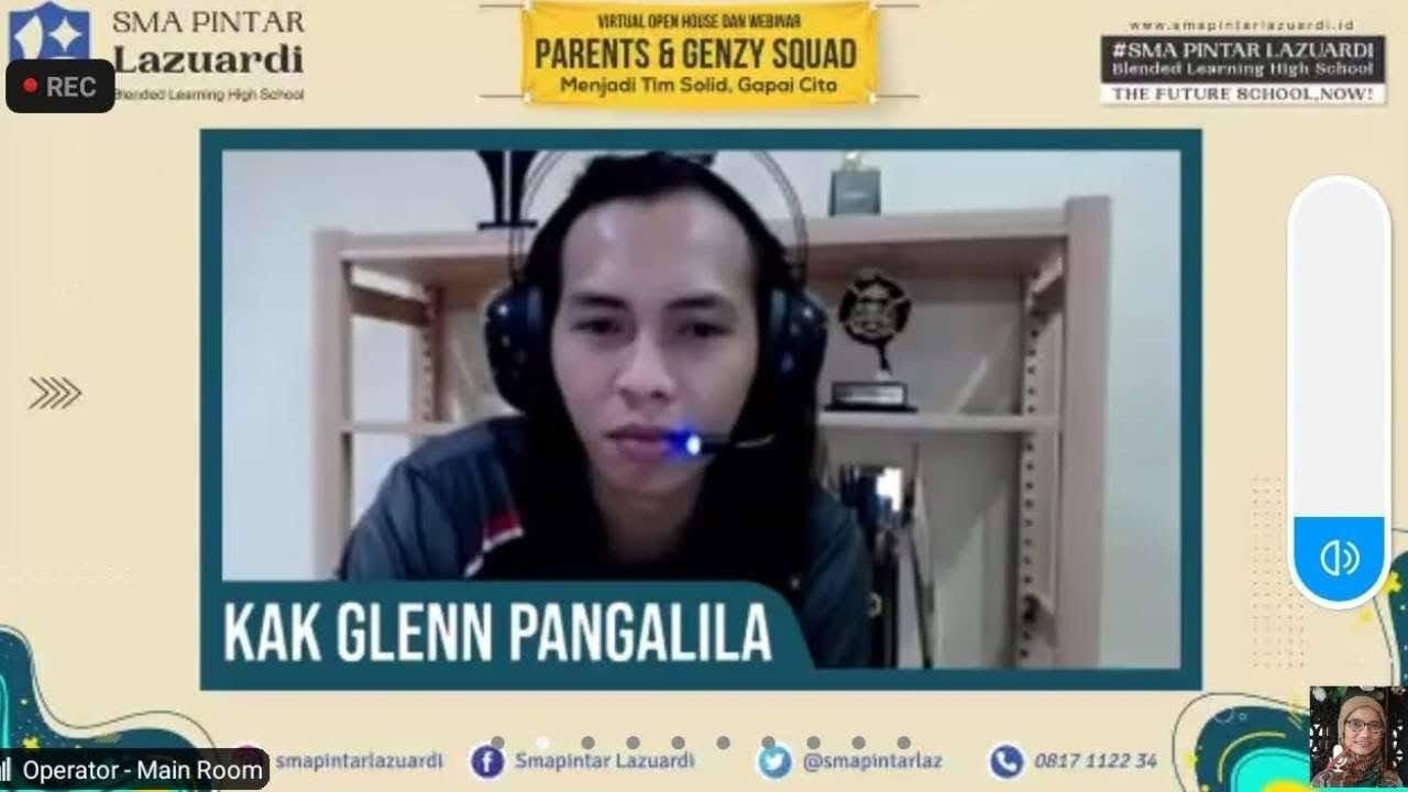 Glen Pangalila SMA Lazuardi