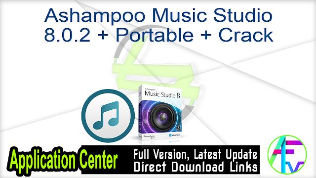 Ashampoo Music Studio 8.0.2 + Portable + Crack