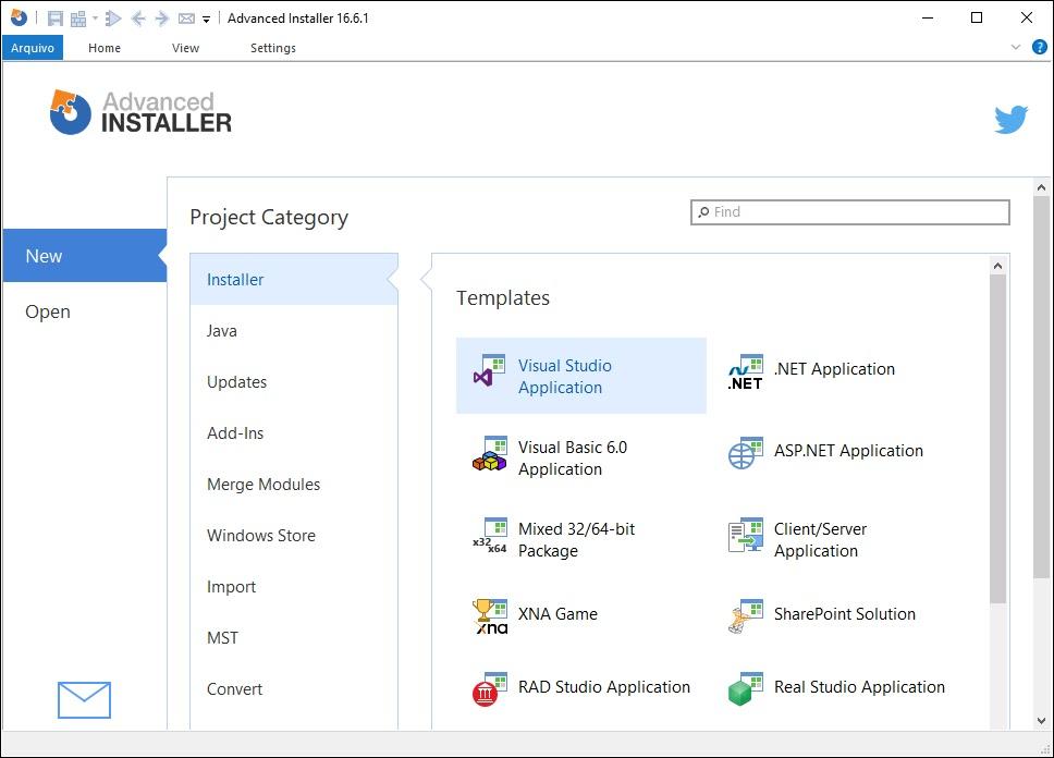 تحميل برنامج Advanced Installer Architect 17.2  لإنشاء حزم تثبيت للتطبيق الخاص بك بسهولة
