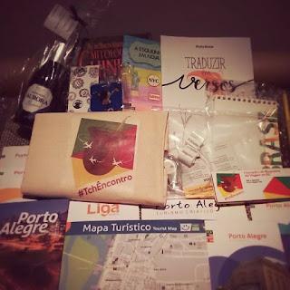Devaneios e brindes do encontro de blogueiros de viagem