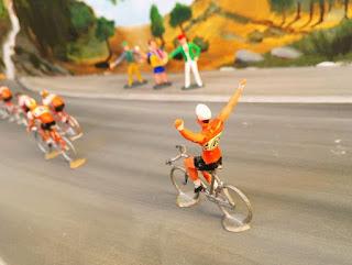 cycliste largué