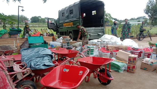 Kodim 0912/Kutai Barat melaksanakan Pra TMMD ke 110 di Desa Long Hubung
