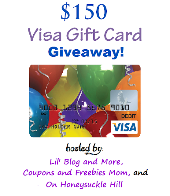 Giveaway : $150 Visa Giftcard (Open internationally)!