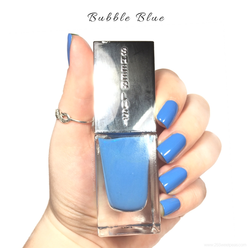 Sheer Lust Bubble Blue