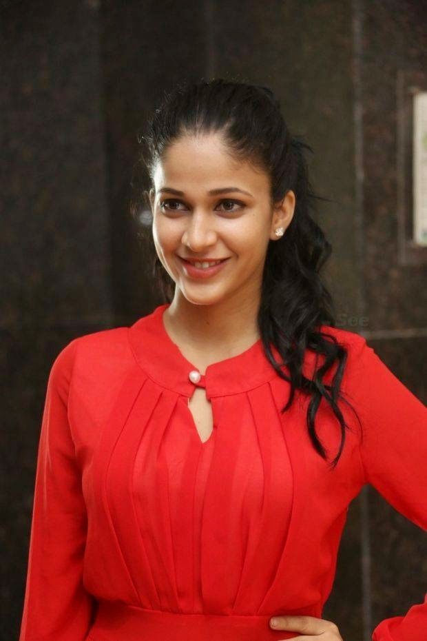 Hot Legs Show Photos Of Lavanya Tripathi In Short Red Dress