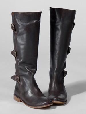 051d3268856 POOR LITTLE LUX GIRL: Dye Black Leather Frye Boots Brown