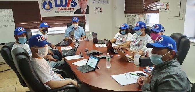 Frentes sectoriales del PRM abren centro cibernético en NY para trabajos políticos y electorales de campaña