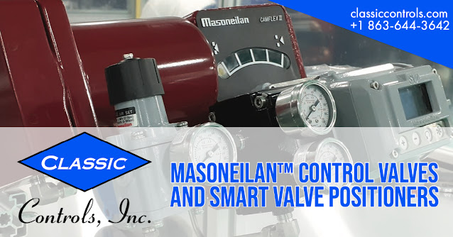 Masoneilan™ Control Valves and Smart Valve Positioners