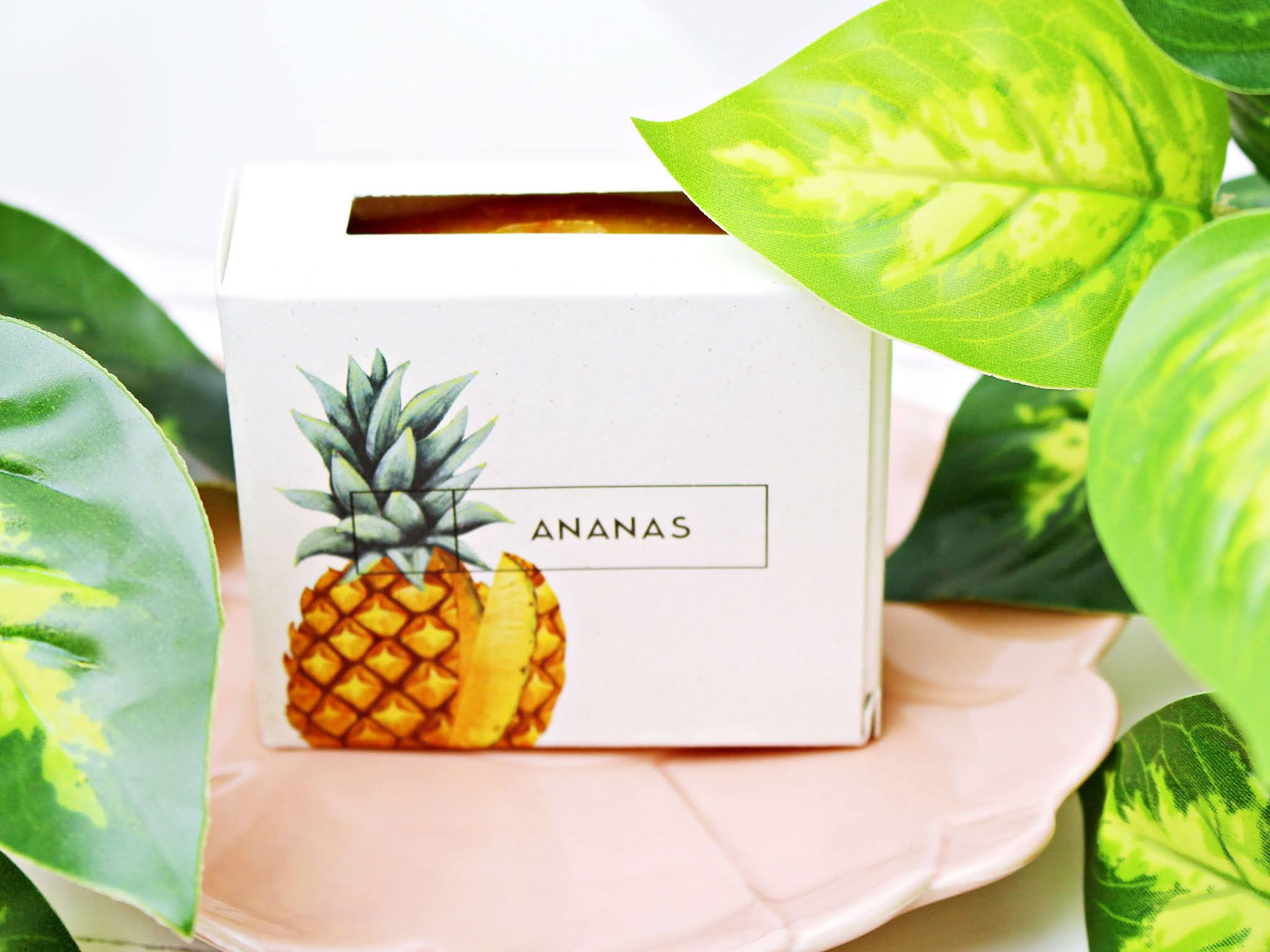 Naturalne mydło Ananas - Ministerstwo Dobrego Mydła