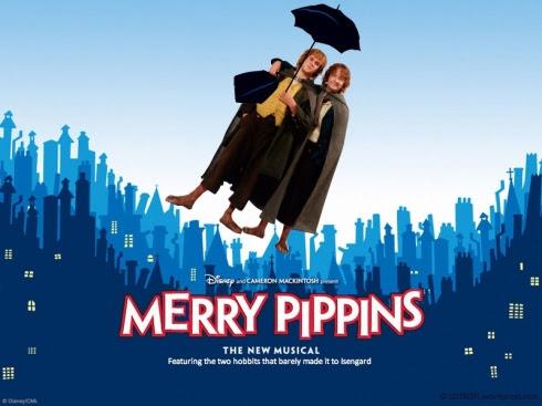 Meme de humor sobre El señor de los anillos y Mary Poppins