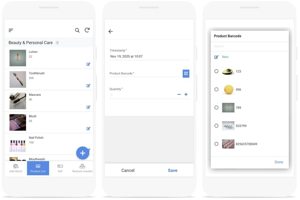 Create an inventory management app from Google Sheets with AppSheet