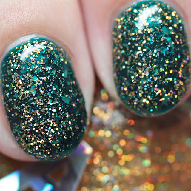 Alter Ego Search for Hearts of Gold over BCB Lacquers Sora in Darkness