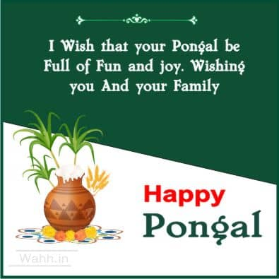 pongal wishes Hindi