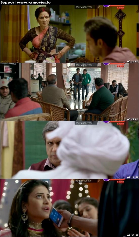Behen Hogi Teri 2017 Hindi 720p DTHRip 999mb