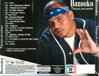 Bazooko - Tiempo De Crecer