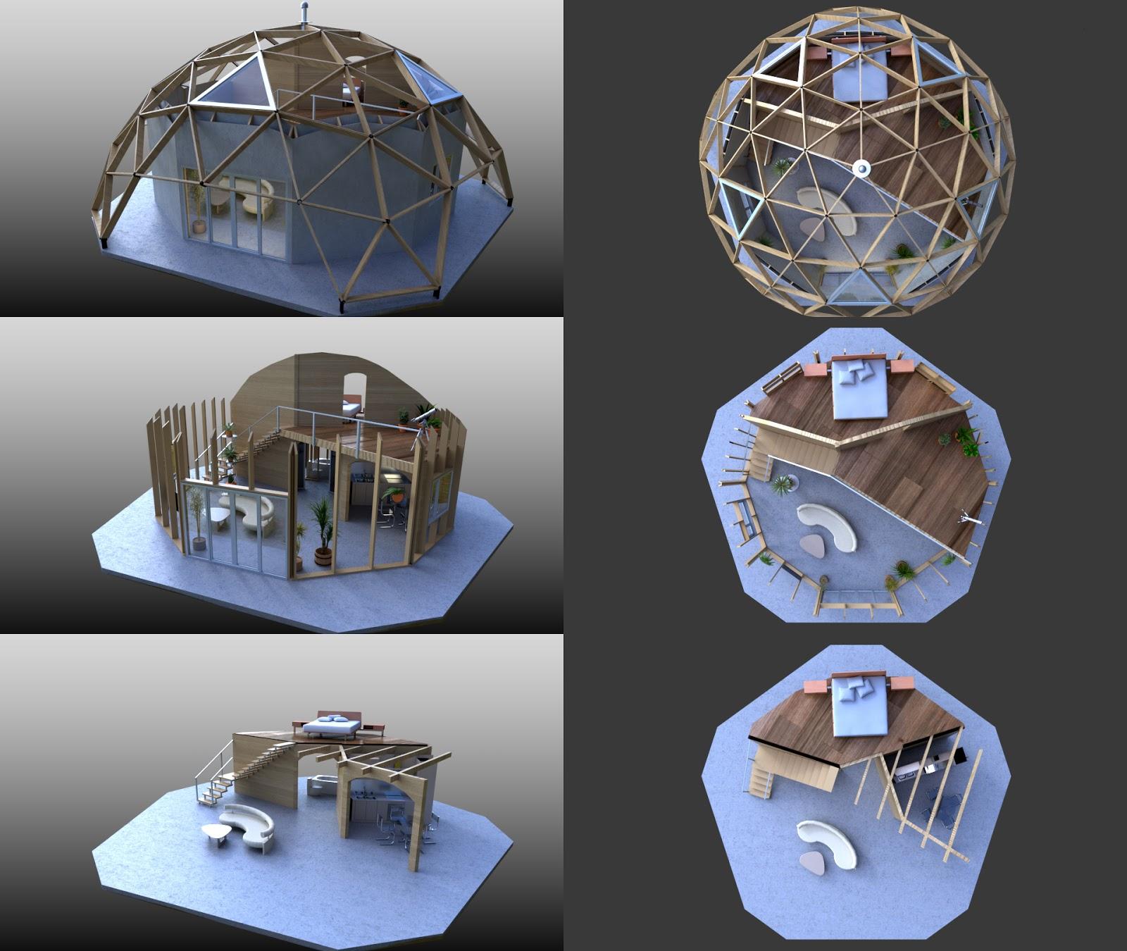 Dome House Futuristic: Sci Fi On Pinterest