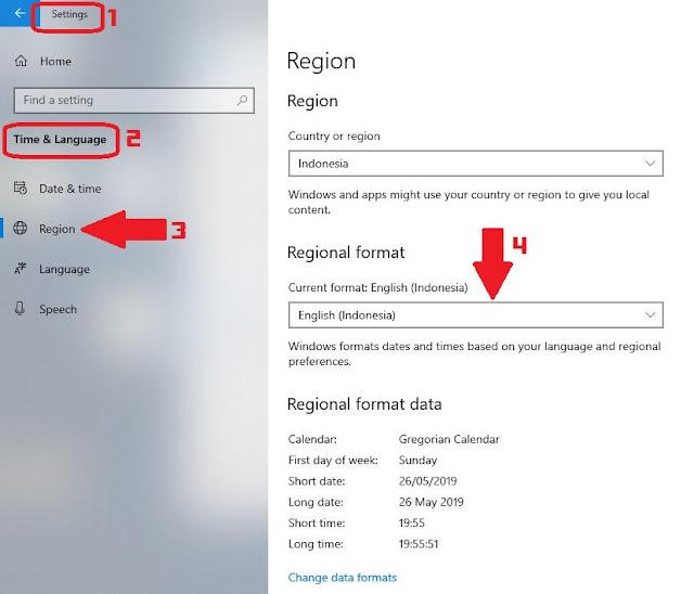 Mengubah Regional Format untuk File Excel Berantakan