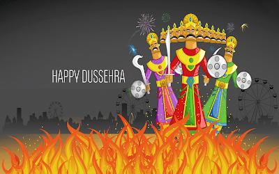 Happy Dussehra Festival HD Image Download